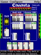 Canasta for Pocket PC