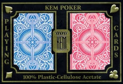 KEM 100% Plastic Playing Cards