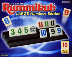 Rummikub Large Numbers Edition Brought To You By Rummy